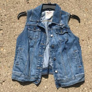 Mossimo Distressed Jean Jacket